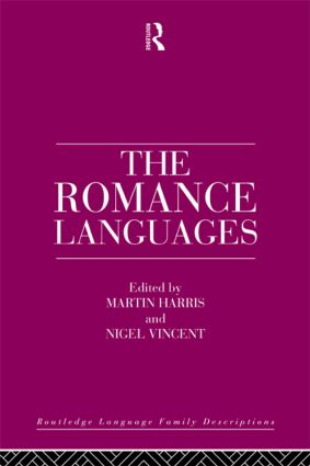 The Romance Languages book cover