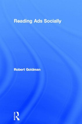 Reading Ads Socially: 1st Edition (Hardback) book cover