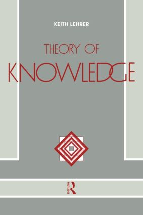 Theory of Knowledge: 1st Edition (Paperback) book cover
