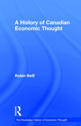 A History of Canadian Economic Thought (Hardback) book cover