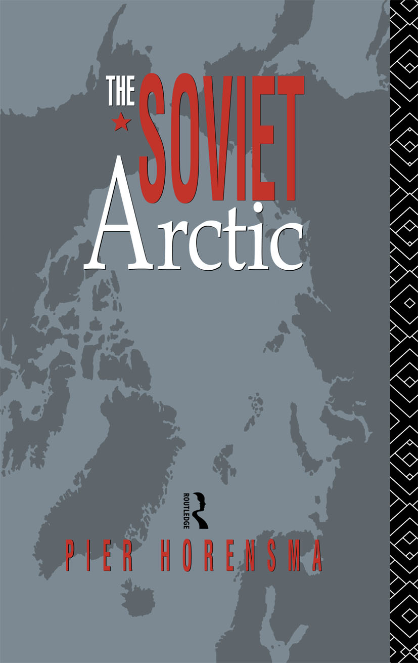 The Soviet Arctic: 1st Edition (Hardback) book cover