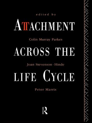 Attachment Across the Life Cycle (Paperback) book cover