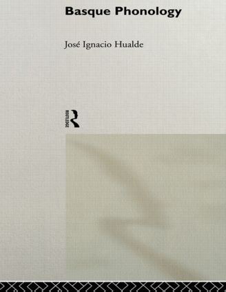 Basque Phonology book cover