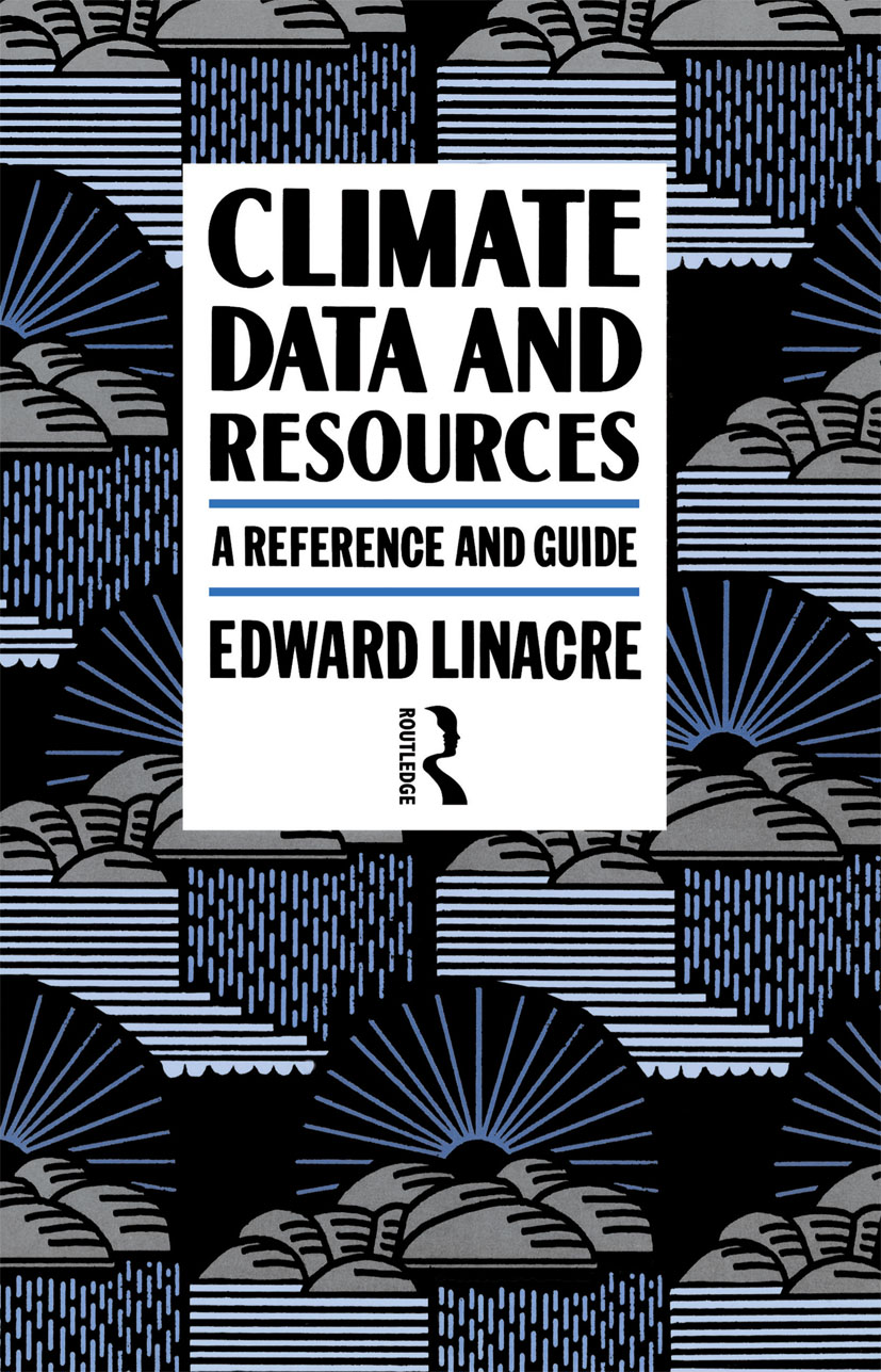 Climate Data and Resources: A Reference and Guide book cover