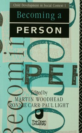 Becoming A Person: 1st Edition (Paperback) book cover