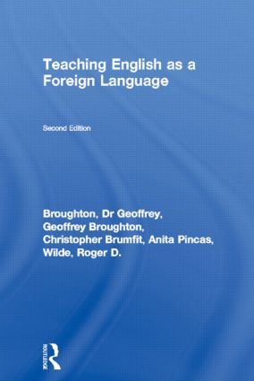 Teaching English as a Foreign Language: 2nd Edition (Paperback) book cover
