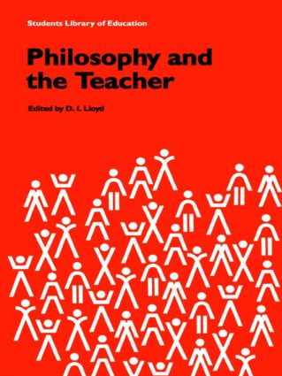 Philosophy and the Teacher: 1st Edition (Paperback) book cover