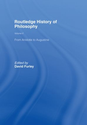 Routledge History of Philosophy Volume II: Aristotle to Augustine book cover