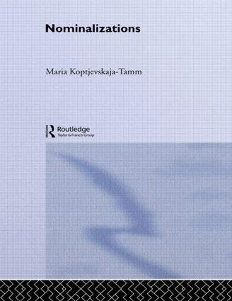 Nominalizations book cover