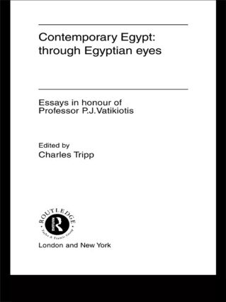 Contemporary Egypt: Through Egyptian Eyes