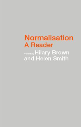 Normalisation: A Reader (Paperback) book cover