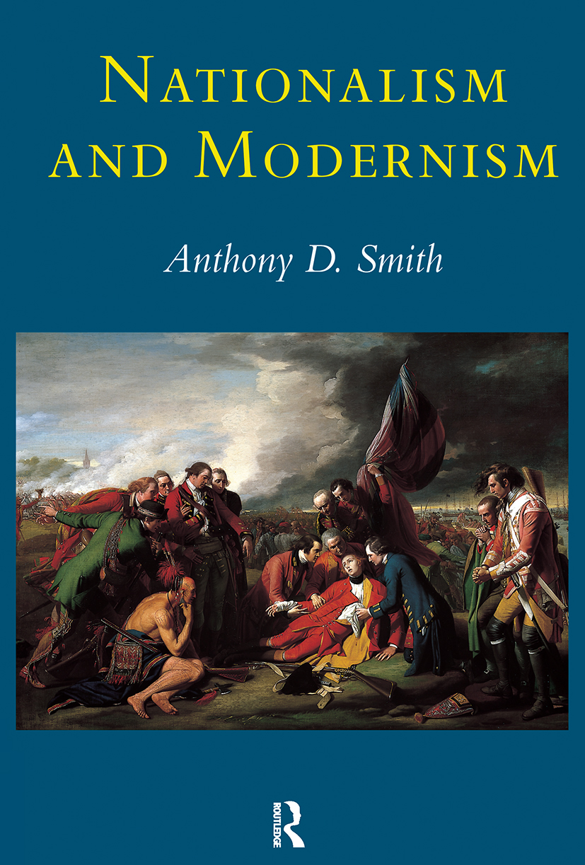 Nationalism and Modernism (Paperback) book cover