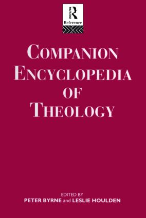 Companion Encyclopedia of Theology (Hardback) book cover