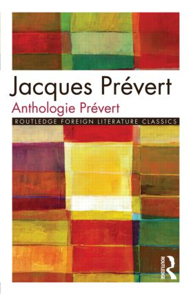 Anthologie Prévert book cover