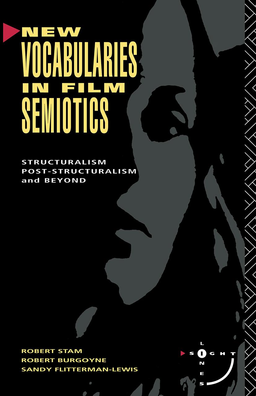 New Vocabularies in Film Semiotics: 1st Edition (Paperback) book cover