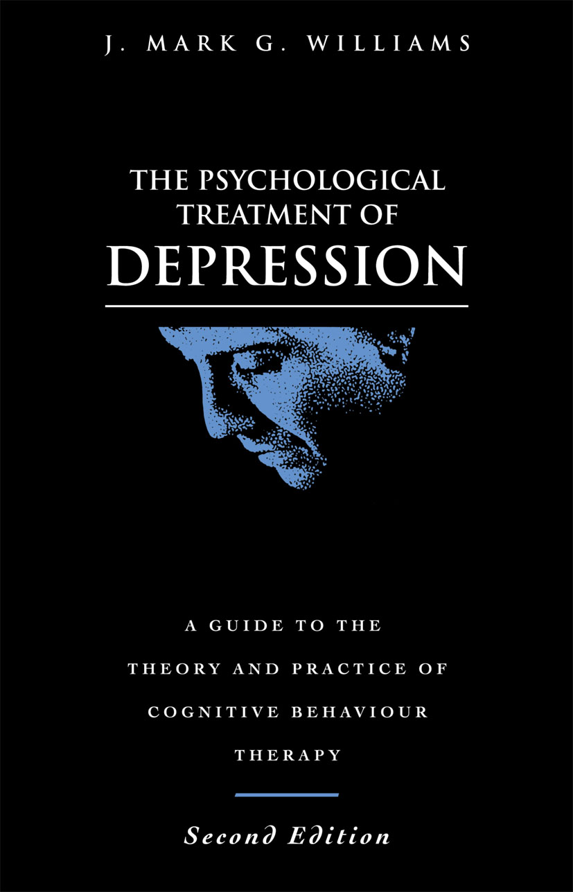 The Psychological Treatment of Depression: 2nd Edition (Paperback) book cover