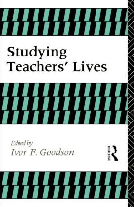 Studying Teachers' Lives book cover