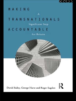 Making Transnationals Accountable: A Significant Step for Britain, 1st Edition (Paperback) book cover