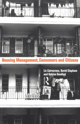 Housing Management, Consumers and Citizens (e-Book) book cover