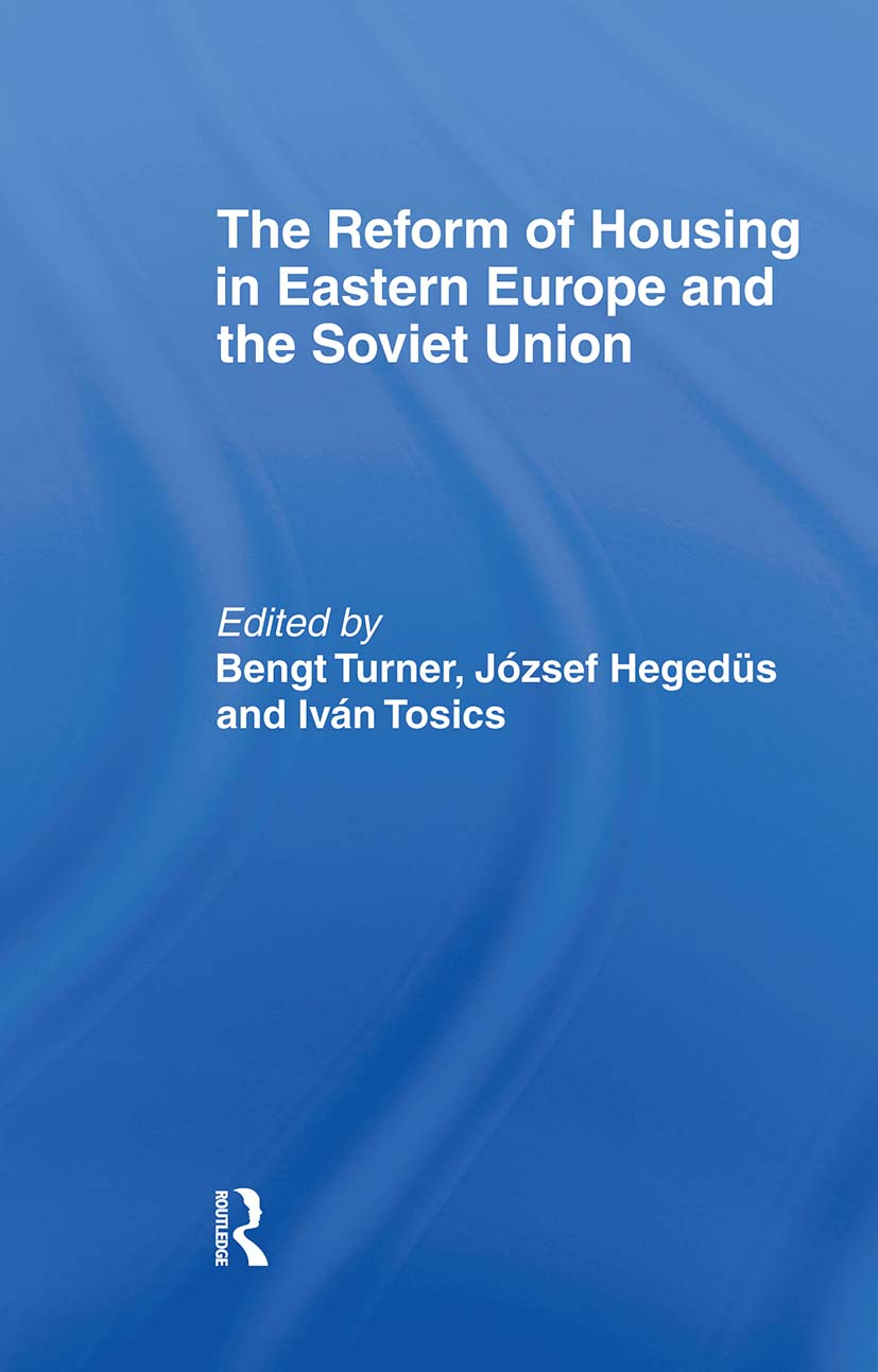 The Reform of Housing in Eastern Europe and the Soviet Union: 1st Edition (Hardback) book cover