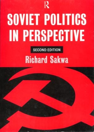Soviet Politics: In Perspective book cover