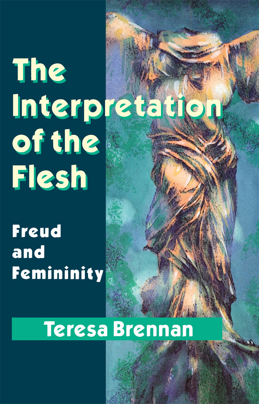 The Interpretation of the Flesh: Freud and Femininity (Paperback) book cover