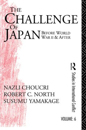Challenge of Japan Before World War II (Hardback) book cover