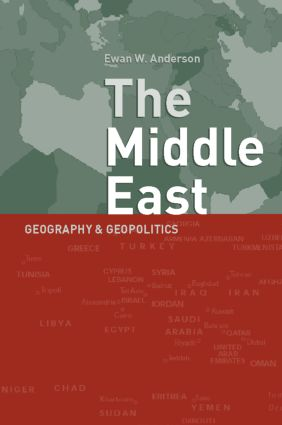 Middle East: Geography and Geopolitics, 8th Edition (Paperback) book cover