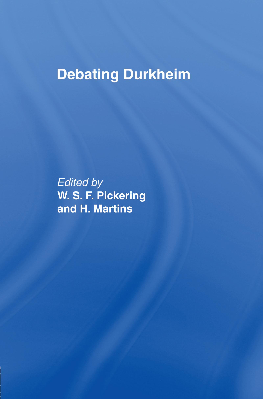Debating Durkheim