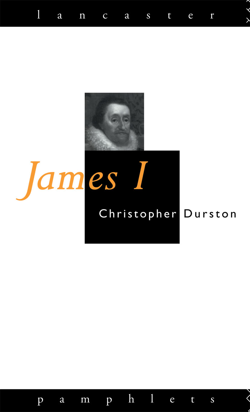 James I: 1st Edition (Paperback) book cover