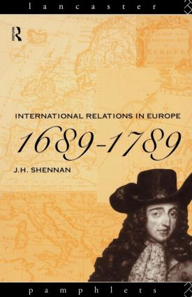 International Relations in Europe, 1689-1789: 1st Edition (Paperback) book cover