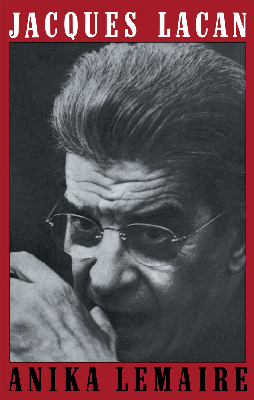 Jacques Lacan: 2nd Edition (Paperback) book cover