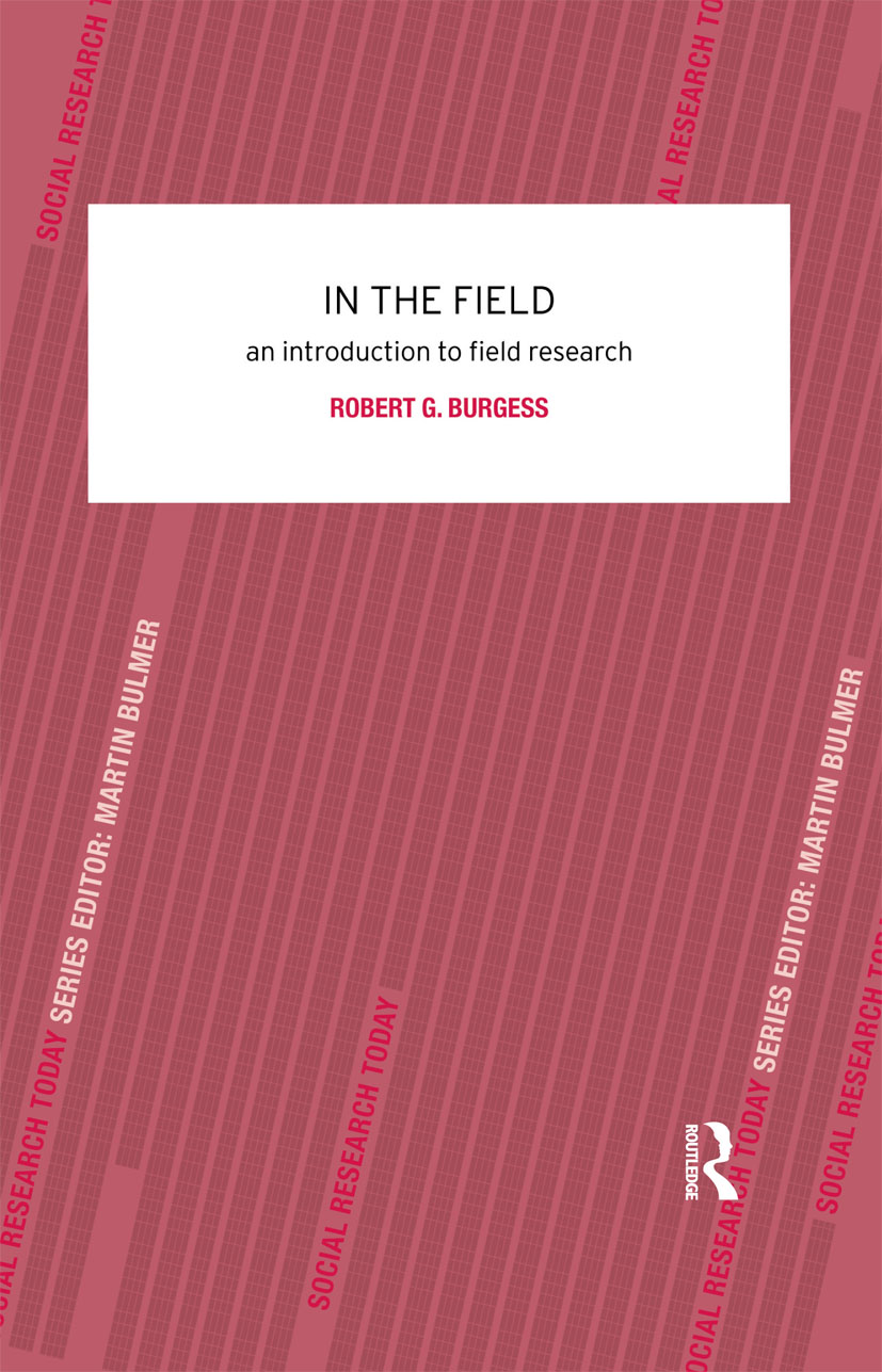 In the Field: An Introduction to Field Research (Paperback) book cover