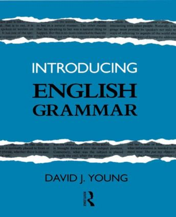 Introducing English Grammar (Paperback) book cover