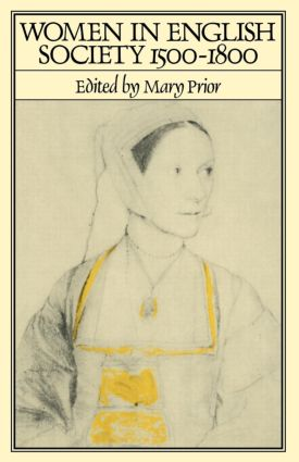 Women in English Society, 1500-1800 (Paperback) book cover