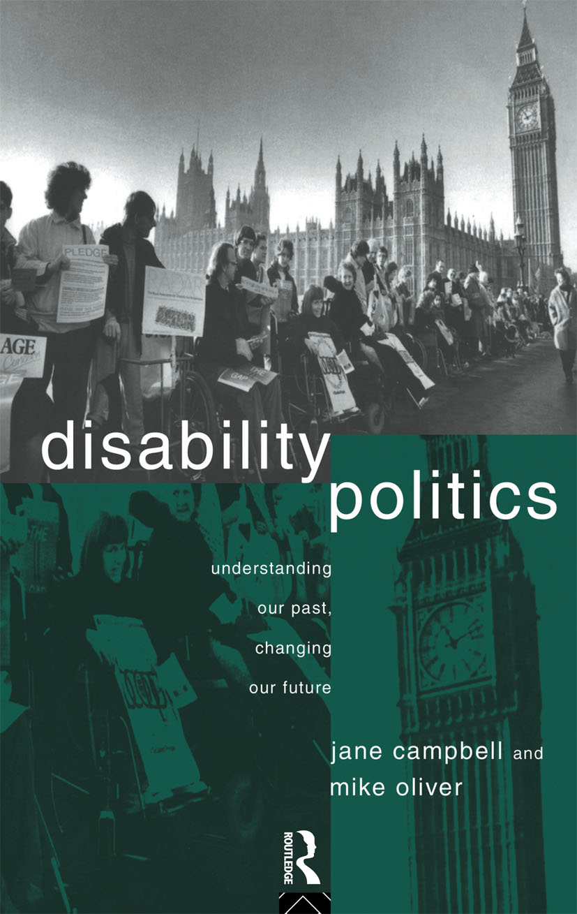 Politics, policy and disability