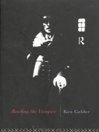 Reading the Vampire (Paperback) book cover