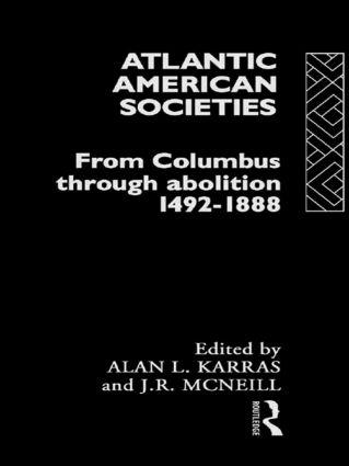 Atlantic American Societies book cover