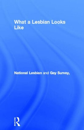 What a Lesbian Looks Like: 1st Edition (Paperback) book cover