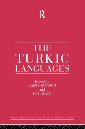 The Turkic Languages: 1st Edition (Hardback) book cover