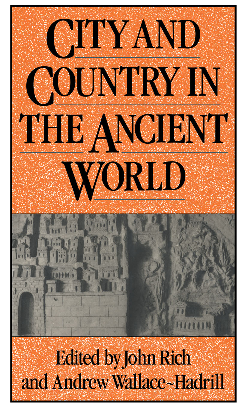 City and Country in the Ancient World: 1st Edition (Paperback) book cover