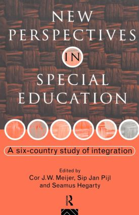 New Perspectives in Special Education: A Six-country Study of Integration, 1st Edition (Paperback) book cover