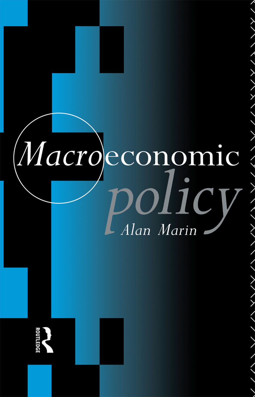 Macroeconomic Policy (Paperback) book cover