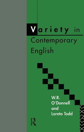 Variety in Contemporary English (Paperback) book cover