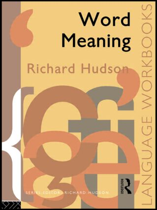 Word Meaning: 1st Edition (e-Book) book cover