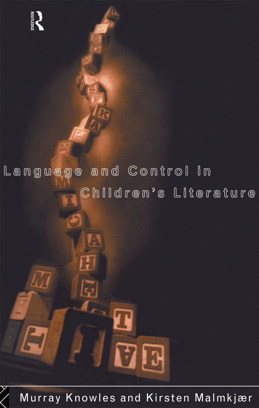 Language and Control in Children's Literature: 1st Edition (Paperback) book cover