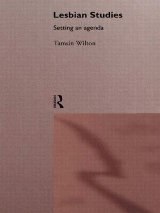 Lesbian Studies: Setting an Agenda: 1st Edition (Paperback) book cover