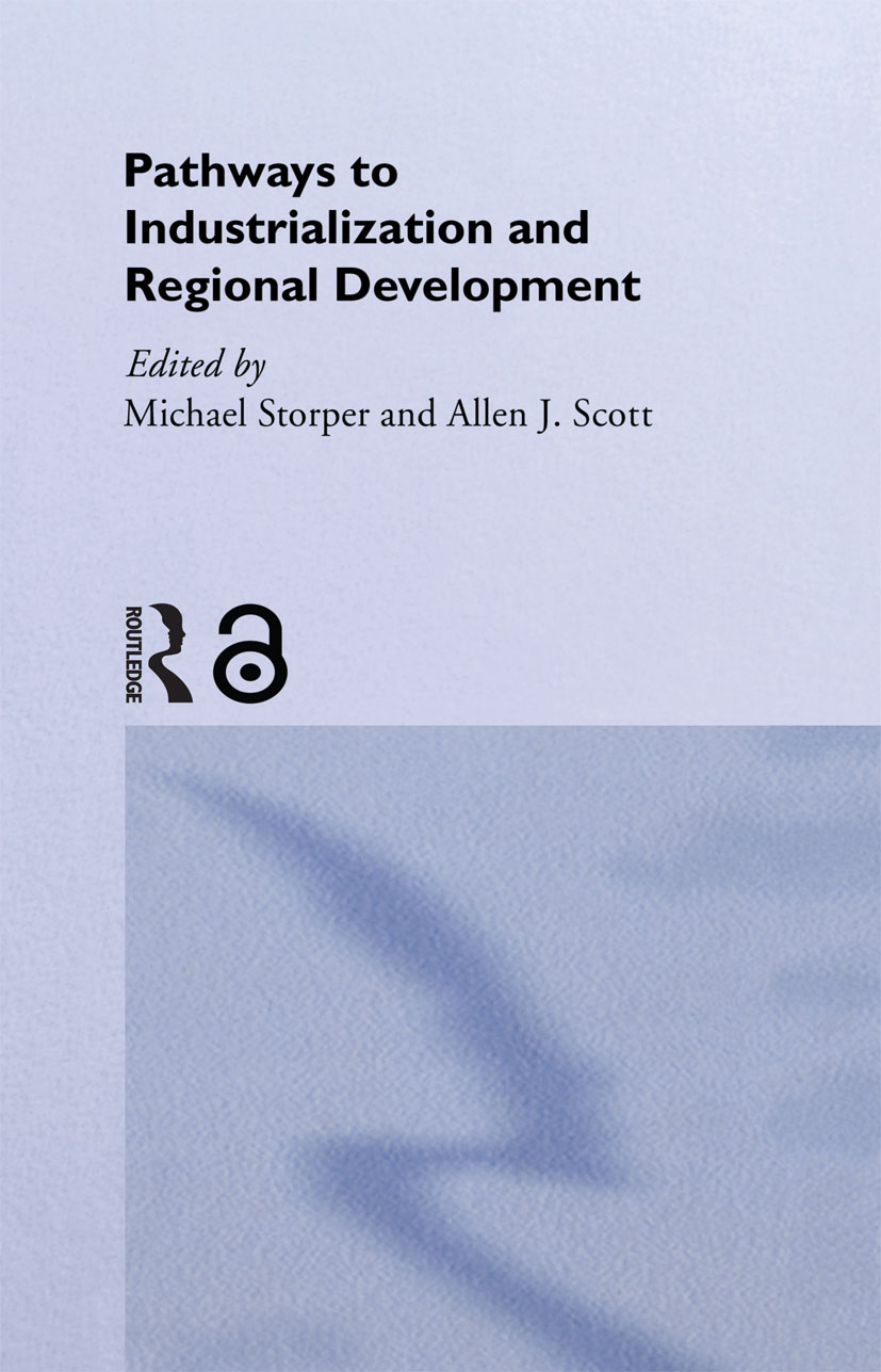 Pathways to Industrialization and Regional Development (Hardback) book cover