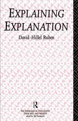 Explaining Explanation