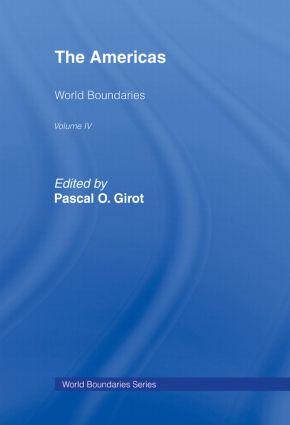 The Americas: World Boundaries Volume 4, 1st Edition (Hardback) book cover
